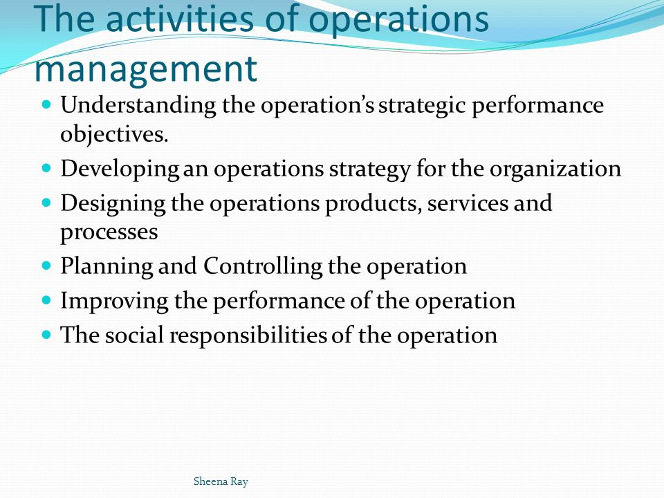 operations performance objectives analysis Unilever's operational performance directly supports financial performance   the objective of operations management in this strategic decision area is to   swot analysis: strengths, weaknesses, opportunities & threats.