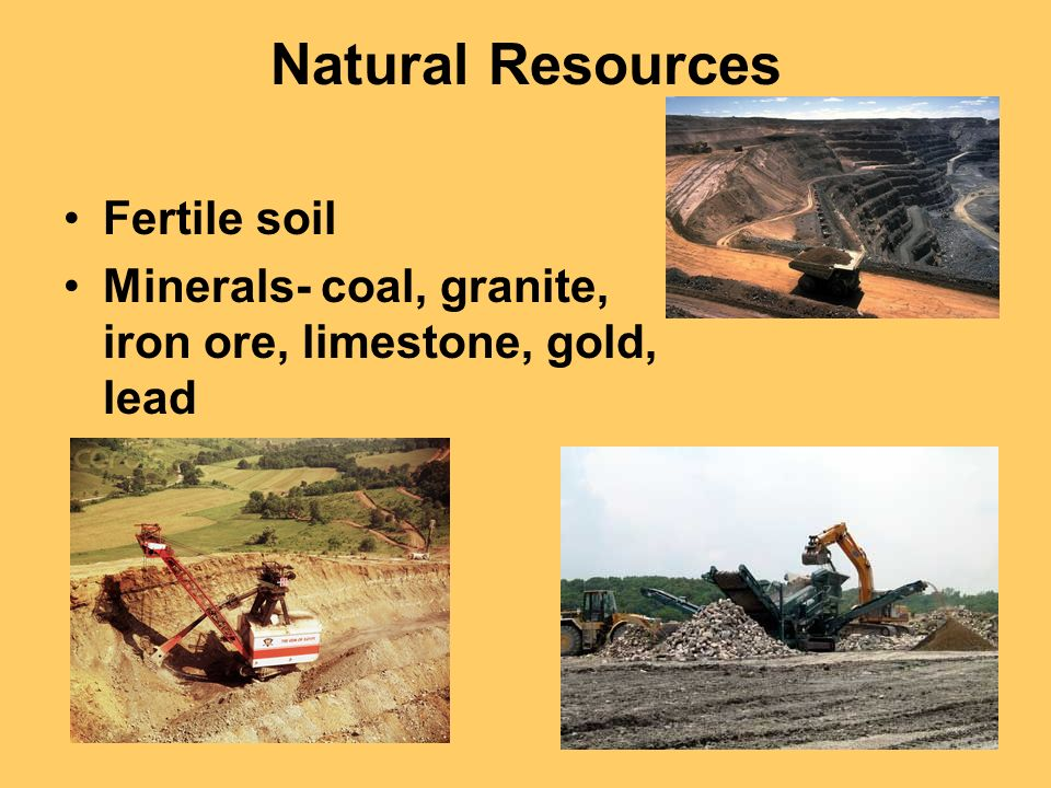 America s breadbasket ppt video online download for Natural resources soil uses