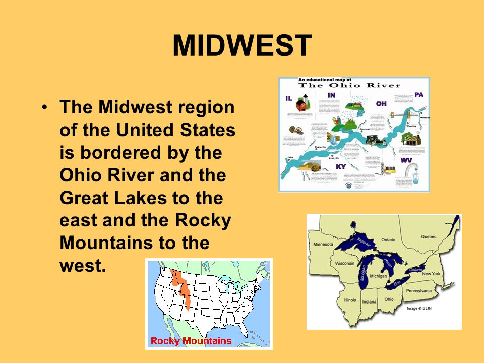 AMERICAS BREADBASKET Ppt Video Online Download - Us midwest region map with the lakes