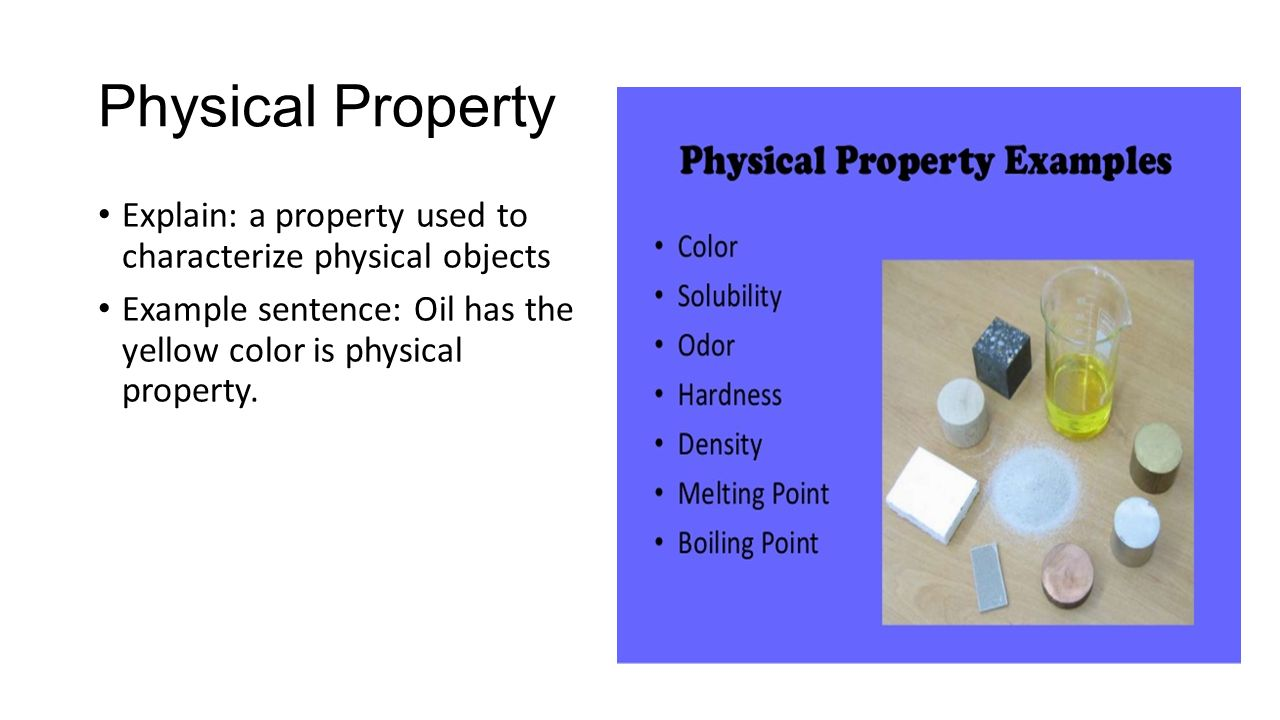 Density of oil and its physical properties