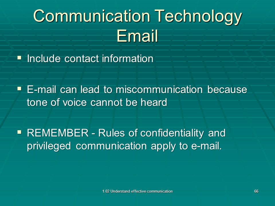 demonstrate ways to maintain confidentiality in day to day communication In today's increasingly litigious and highly competitive workplace, confidentiality   desks of any confidential information before going home at the end of the day   a confidentiality policy should also describe the level of privacy  as to the  proper way of communicating with the company's inside and outside.