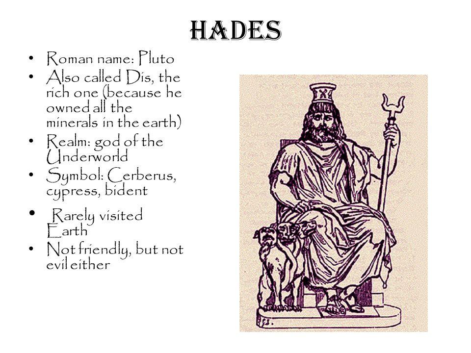 Hades God Symbol Roman Greek Gods