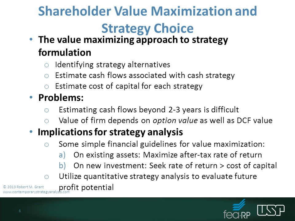 problems with profit maximization strategy finance essay Chapter 9 maximizing profit  profit maximization identifies the output level that has a  strategy for the firm when tr  tc 5.