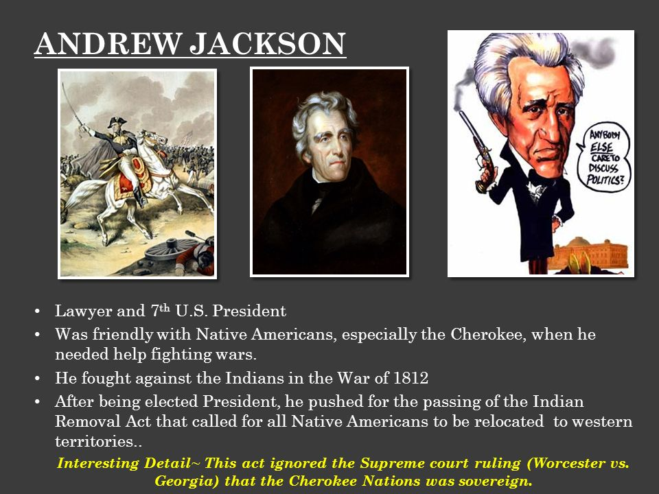 essay on andrew jackson and the indian removal act Andrew jackson was a president who cared for his  in the indian removal act jackson forced many american  documents similar to apush dbq essay jackson.
