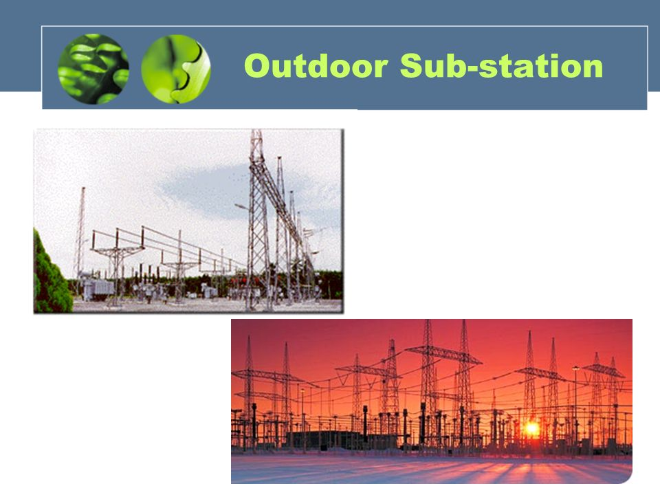 Gas insulated substation types of substation