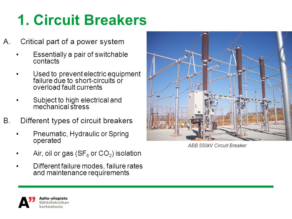 Condition Monitoring of Circuit Breakers and Switchgear - ppt video ...