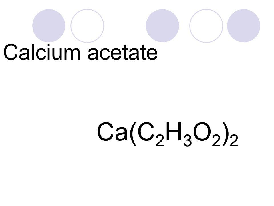 Calcium Acetate Free Trial