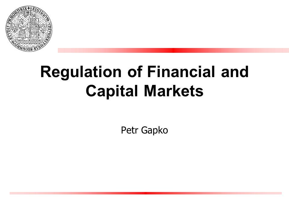 capital markets regulation 1 capital markets regulation harvard kennedy school / harvard law school course syllabus, spring semester 2016 wednesdays, 5-7pm law school campus, 1563 massachusetts avenue.