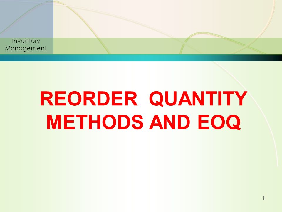 quantity method The average quantity system (aqs) is an internationally agreed method of  determining the size or quantity of pre-packed articles with a 'constant nominal.