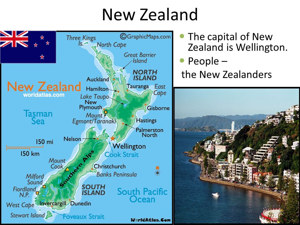 New Zealand The capital of New Zealand is Wellington. People –
