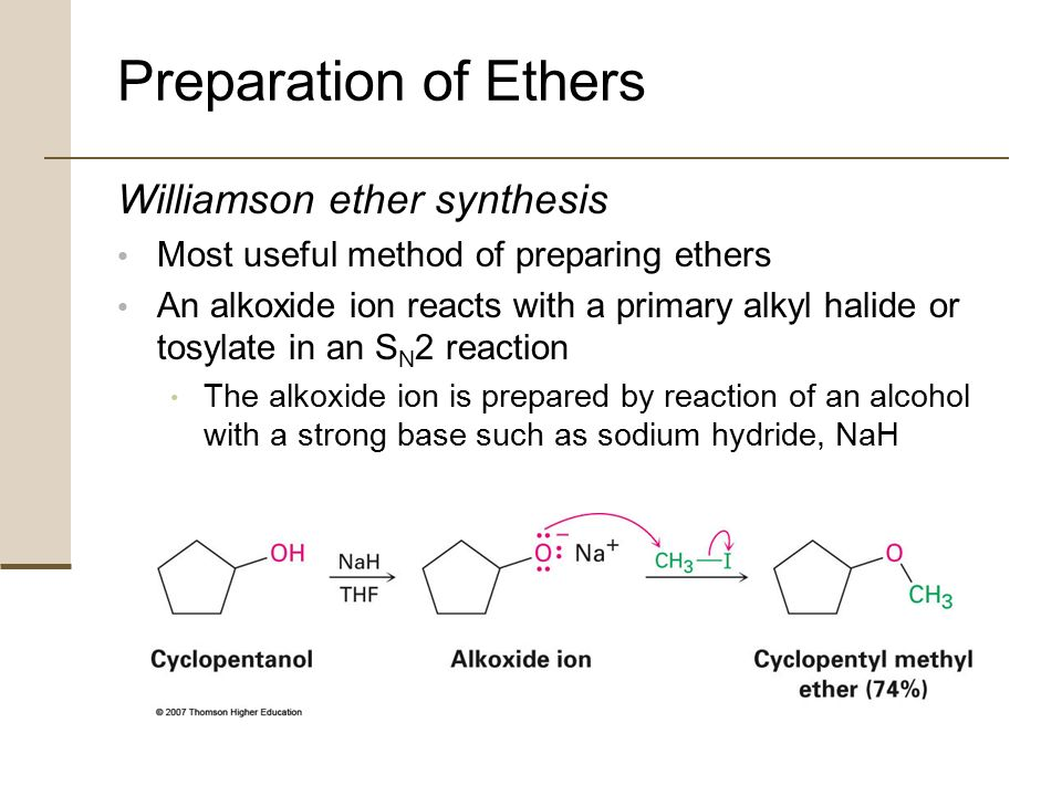 williamson ether sythesis View lab report - williamson ether synthesis lab alternative lab report from che 202 at suny buffalo formation of our ether phenacetin scheme mechanism procedure.