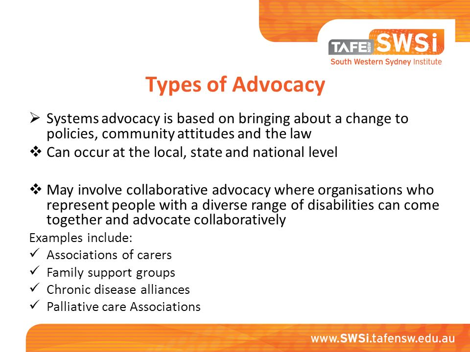 advocacy clients advocate Daya empowers survivors through counseling and advocacy and works towards prevention by  the advocate will assist clients in accessing.