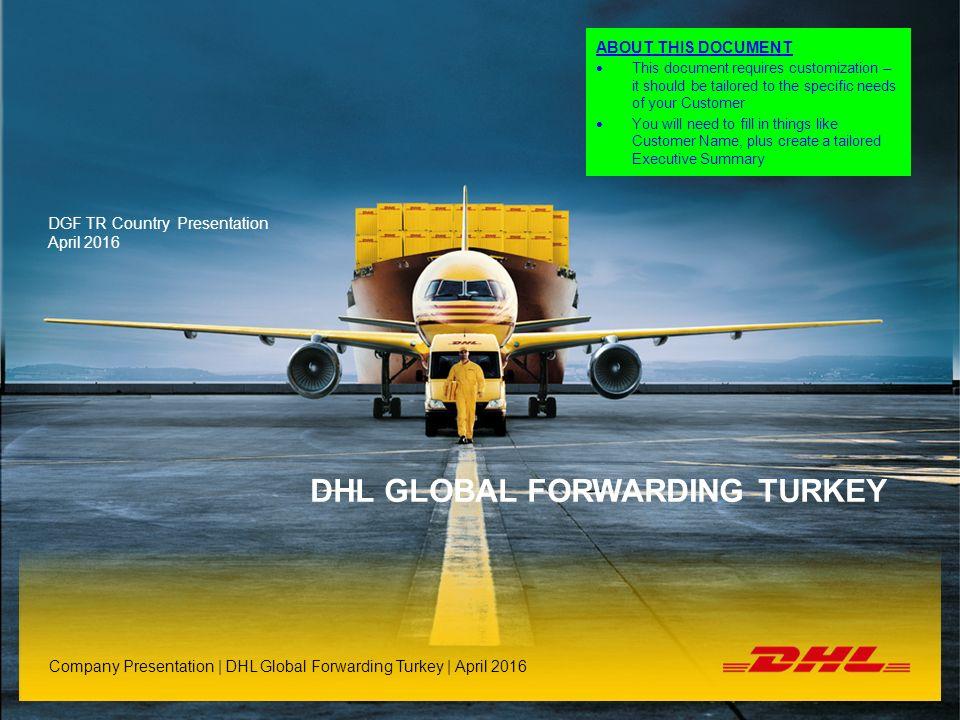 DHL Global Forwarding Turkey