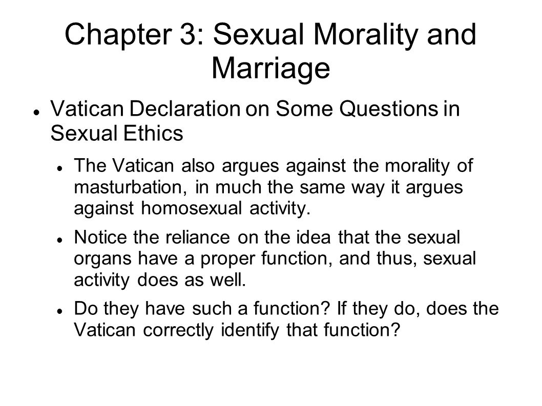 premarital sex 2 essay