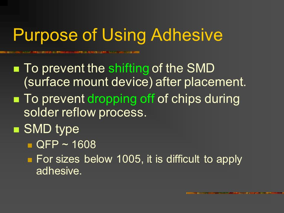Epoxy Adhesive For Smt Three Bond 2217h Ppt Video Online