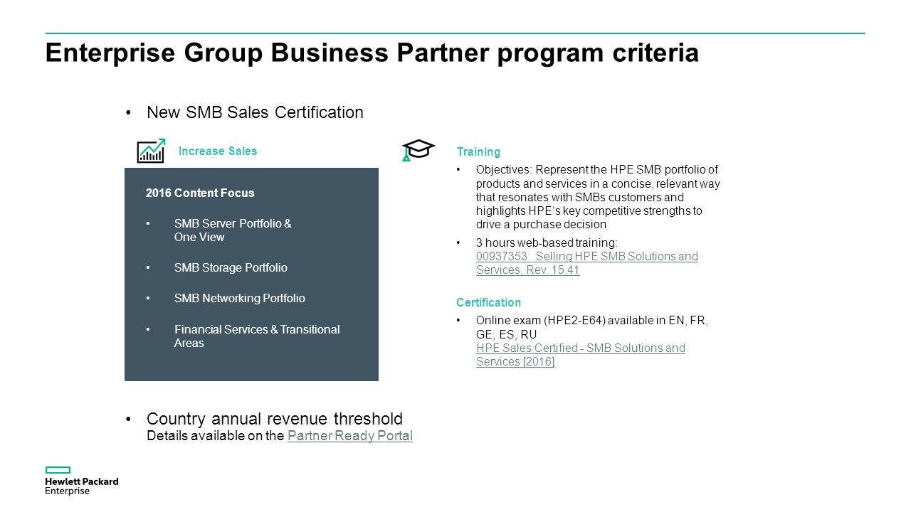 The business enterprise program