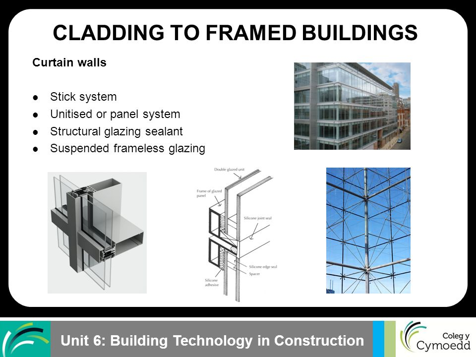 Cladding Infill Panels : Learning outcome lesson objective ppt video online download