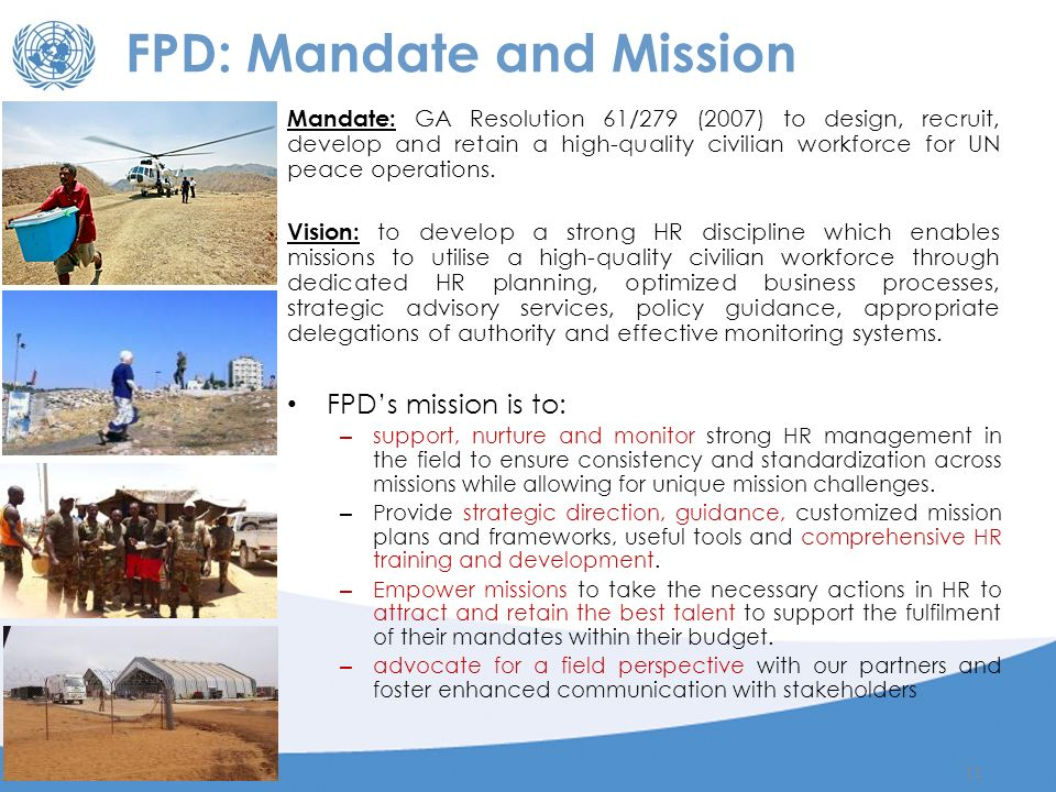 Field Personnel Division Senior Leadership Programme Ppt