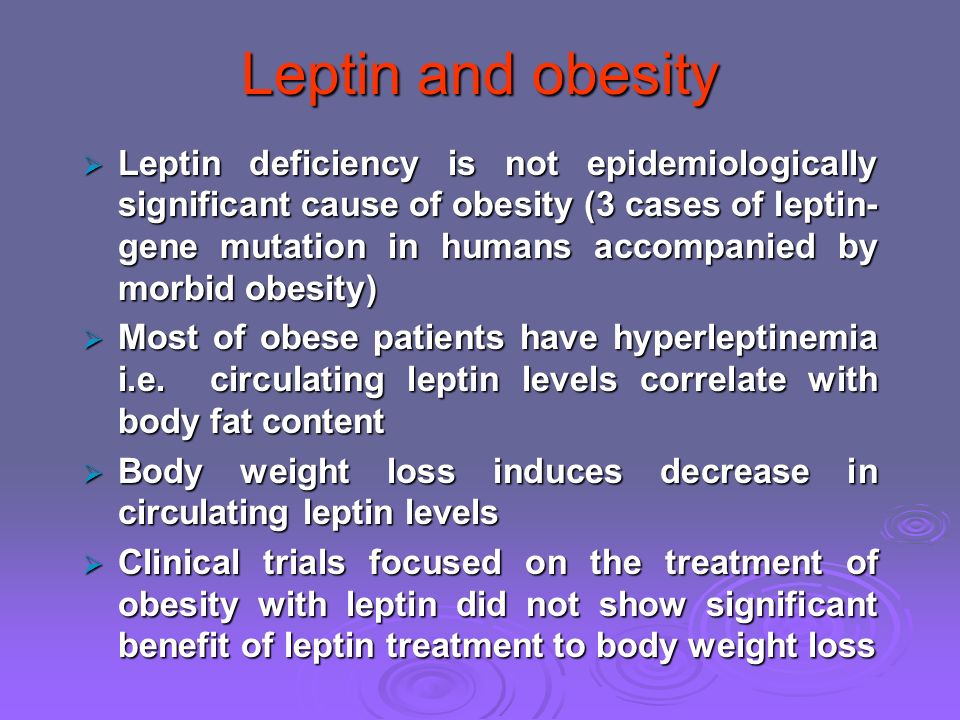 how to fix leptin levels