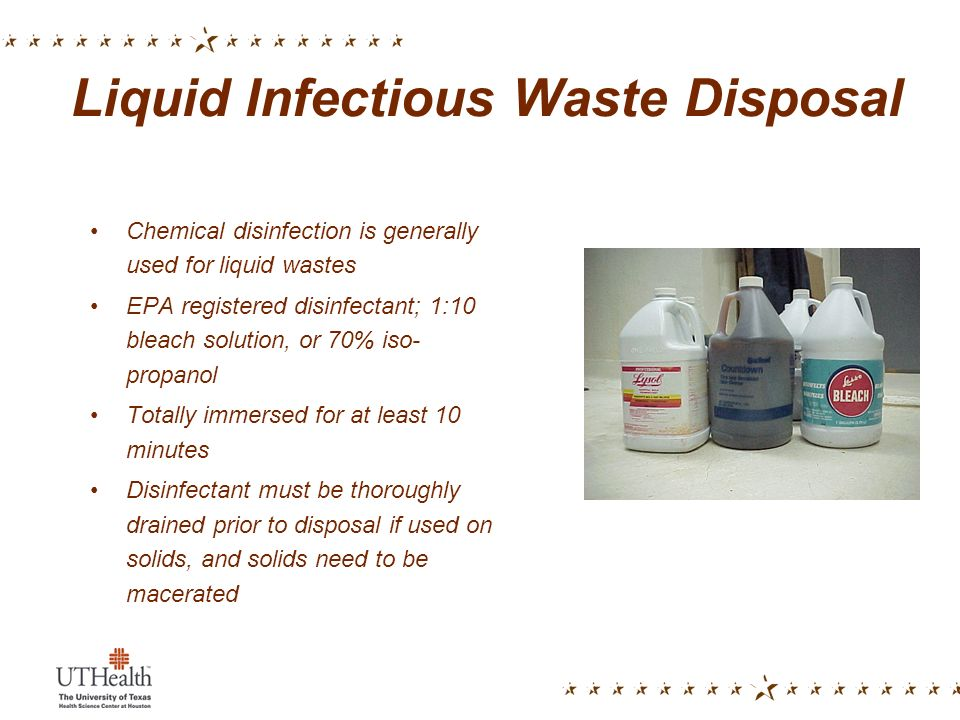 Handling And Disposal Of Infectious Wastes Ppt Video