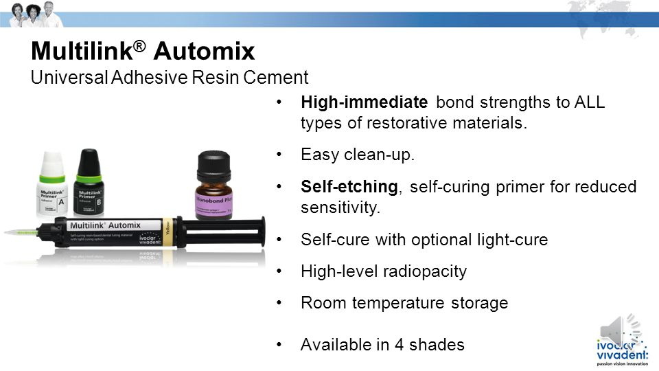 Multilink® Automix Universal Adhesive Resin Cement