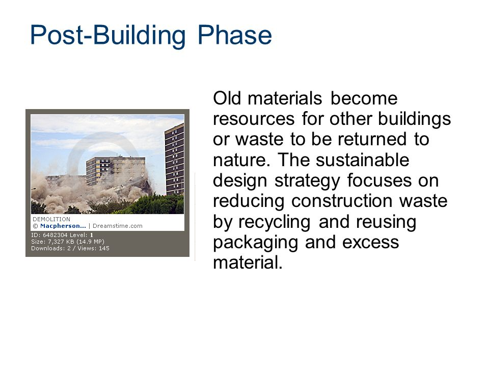 Green building and sustainable architecture ppt video Design a sustainable house lesson plan