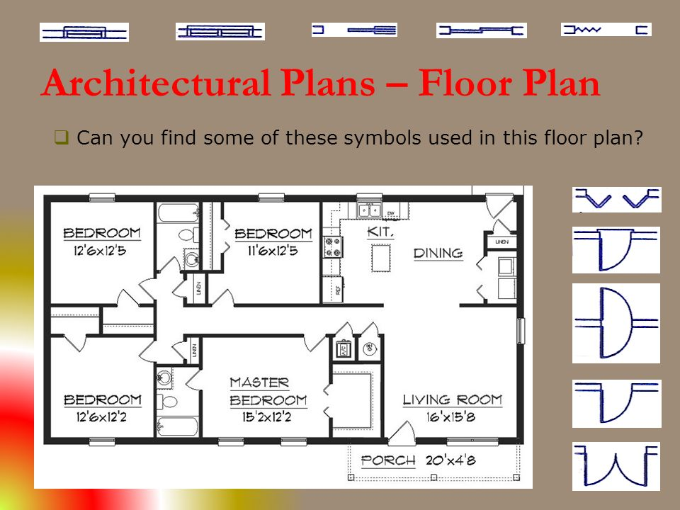 Government engineering college rajkot subject building for Architectural floor plan symbols