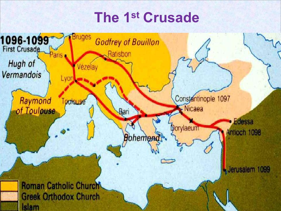 The 1st Crusade