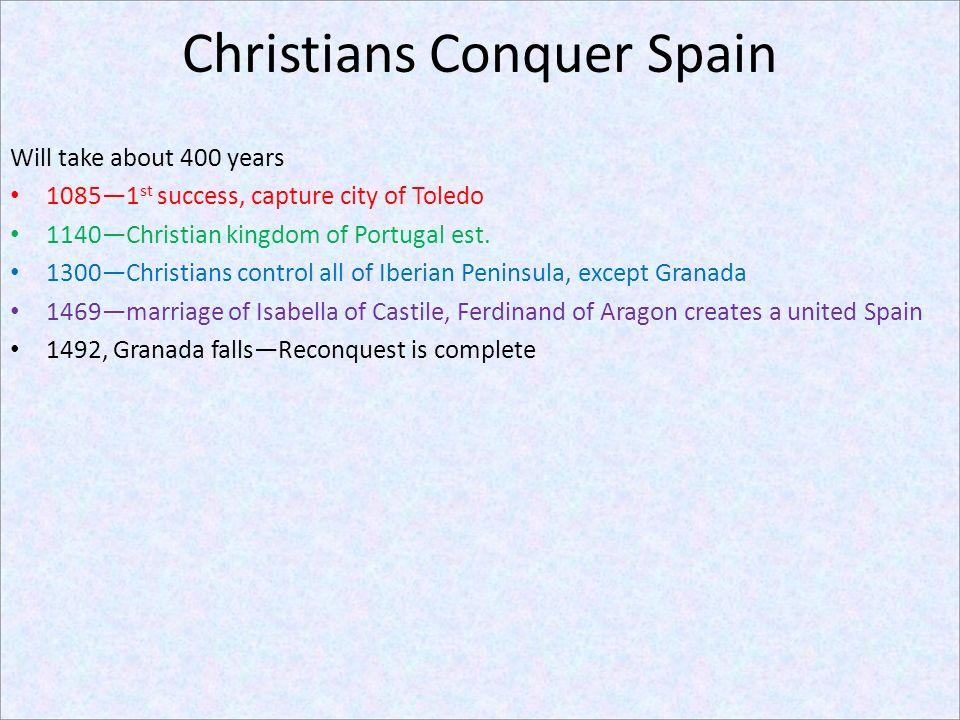 Christians Conquer Spain