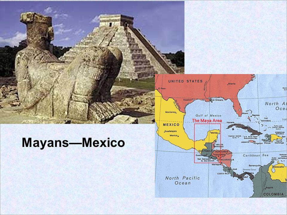 Mayans—Mexico