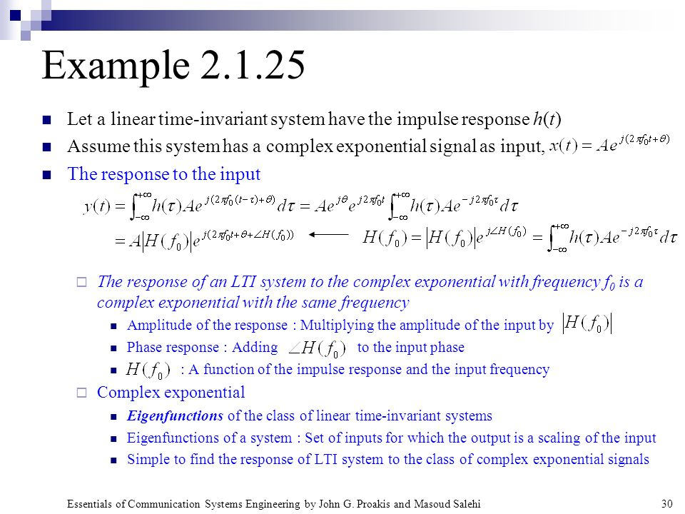 linear time invariant system pdf