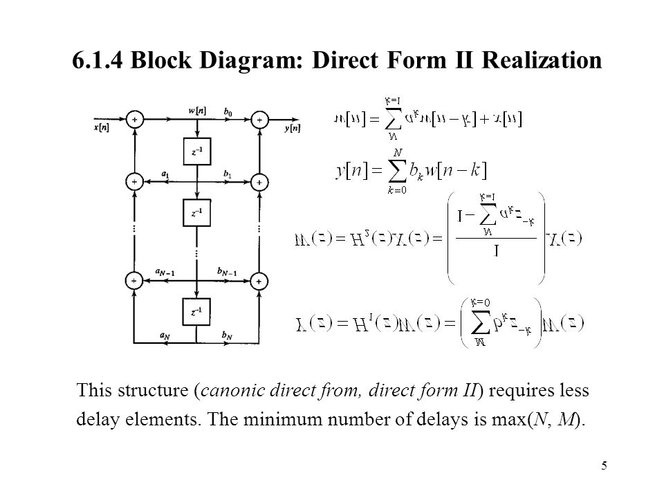 pentium 1 block diagram direct form 1 block diagram chapter 6. digital filter structures and designs section ... #2