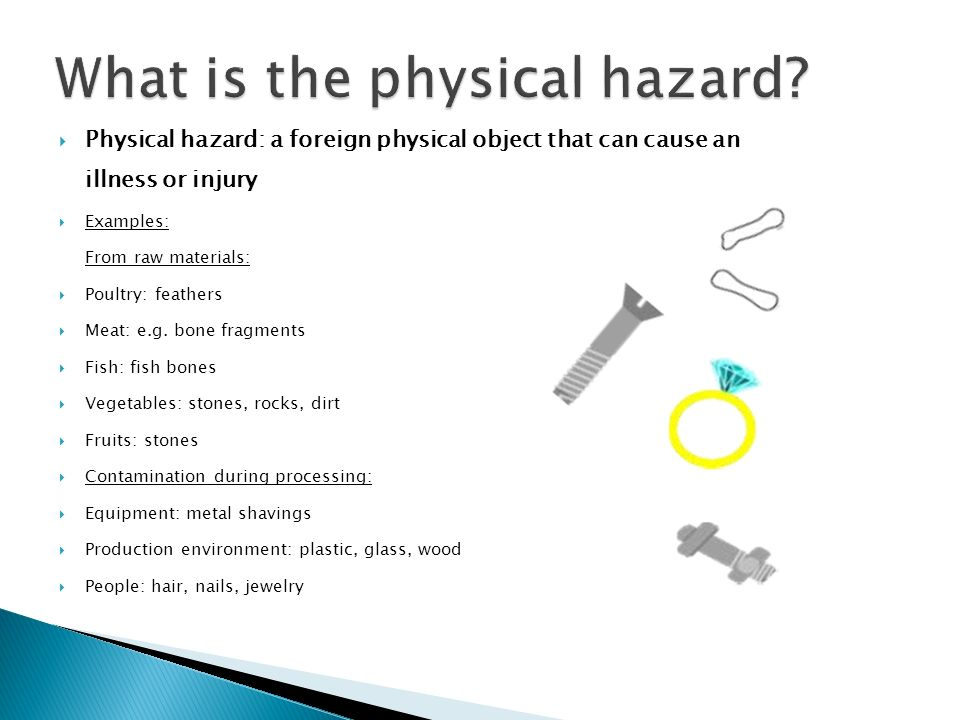 physical hazard Physical hazard an agent or activity posing a potential hazard to health want to thank tfd for its existence tell a friend about us, add a link to this page, or visit the webmaster's page for free fun content link to this page.