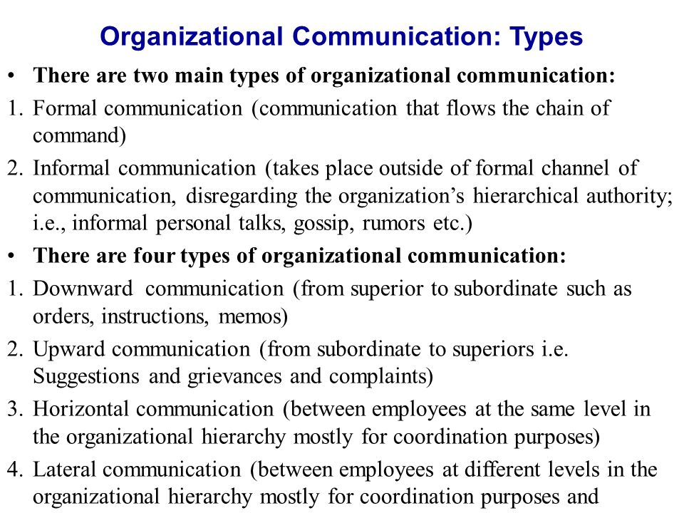 organizational communication processes underlying communication success 5 tips for effective communication in the workplace - 1 develop a strategy, create a process, multiply the message, explain why, create a feedback process.