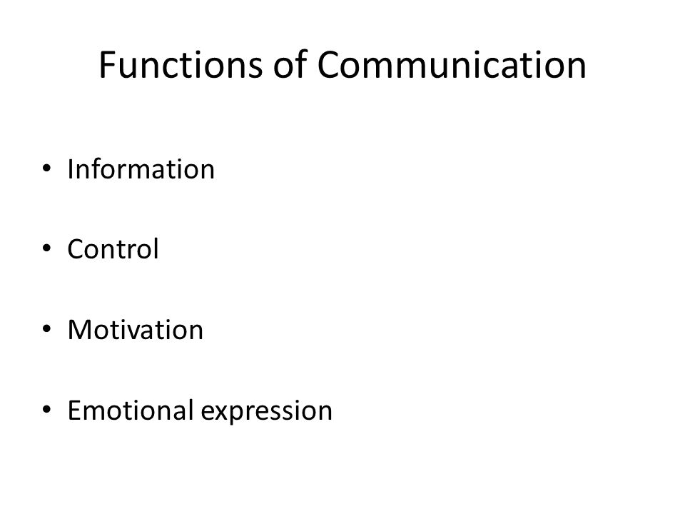 functions of business communication The nine functions of marketing in order for the marketing bridge to work correctly -- providing consumers with opportunities to purchase the products and services they need -- the marketing.
