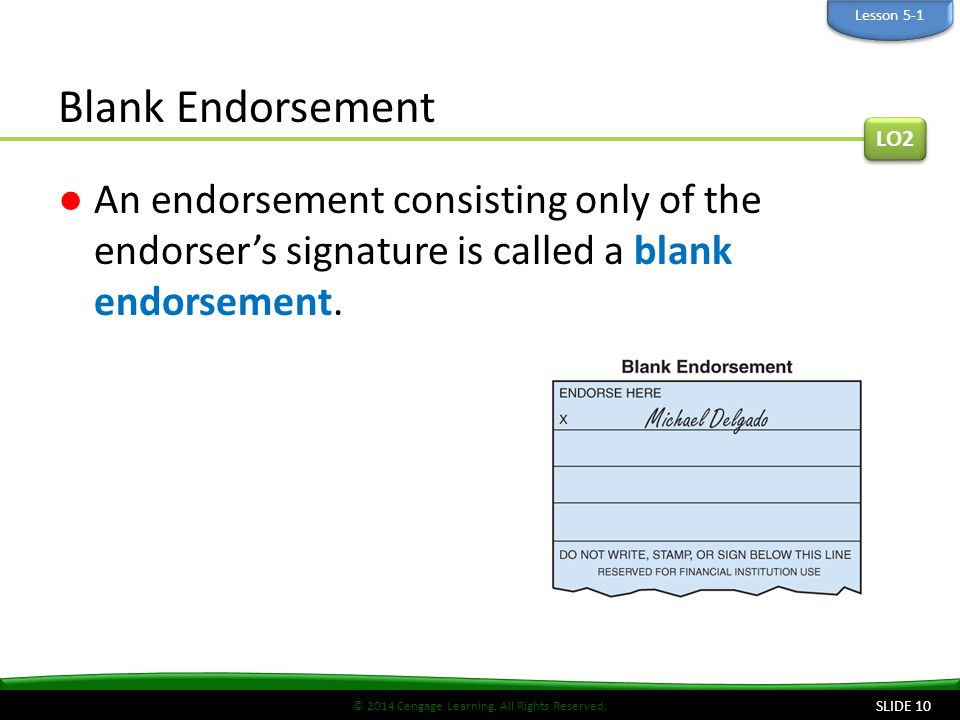 "how to write an endorsement How to endorse a check put ""for deposit only"" on the top endorsement line and write your bank's name and your account number on the line below your."