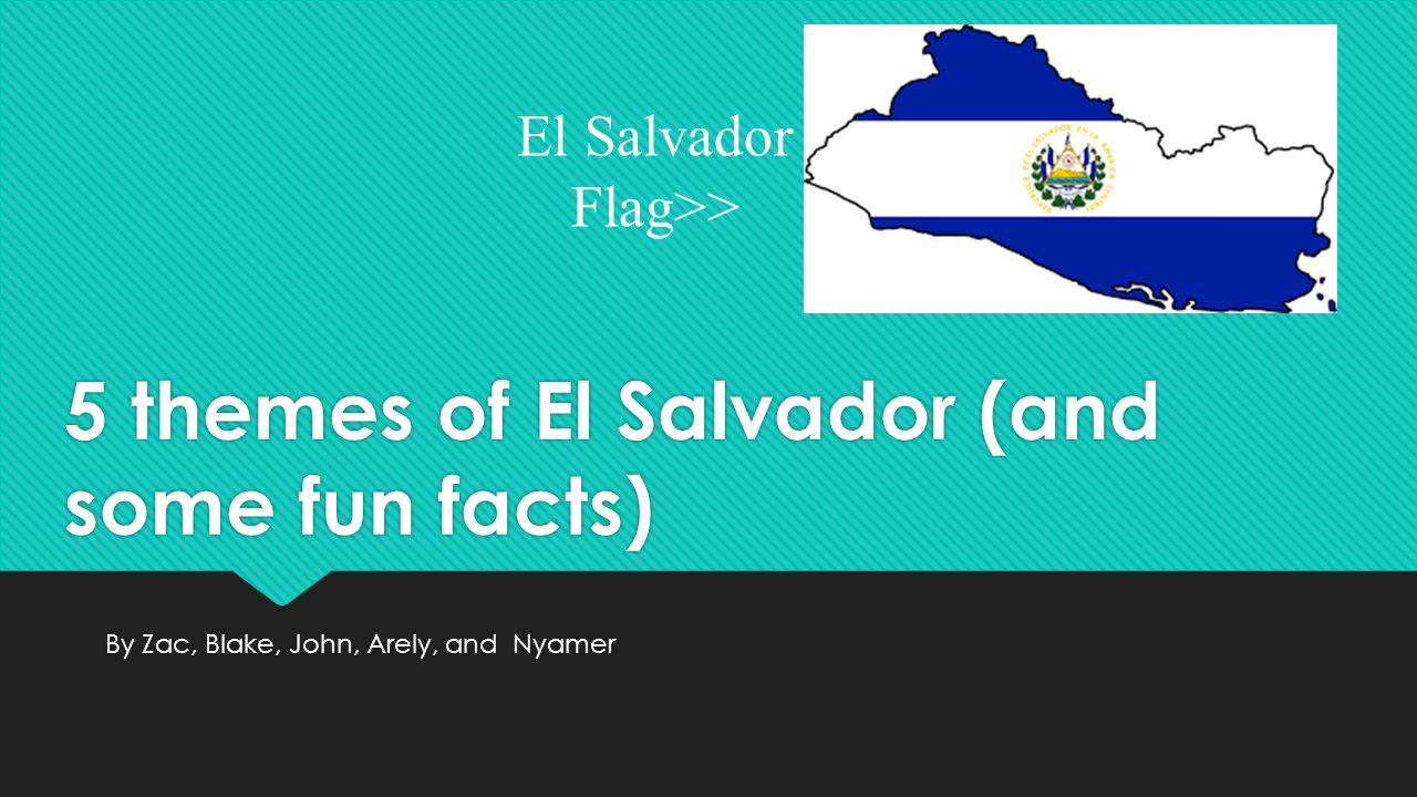 common historical facts about el salvador