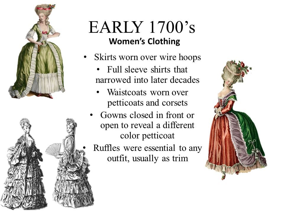 European 1700's Fashion Vanja Scepanovic.