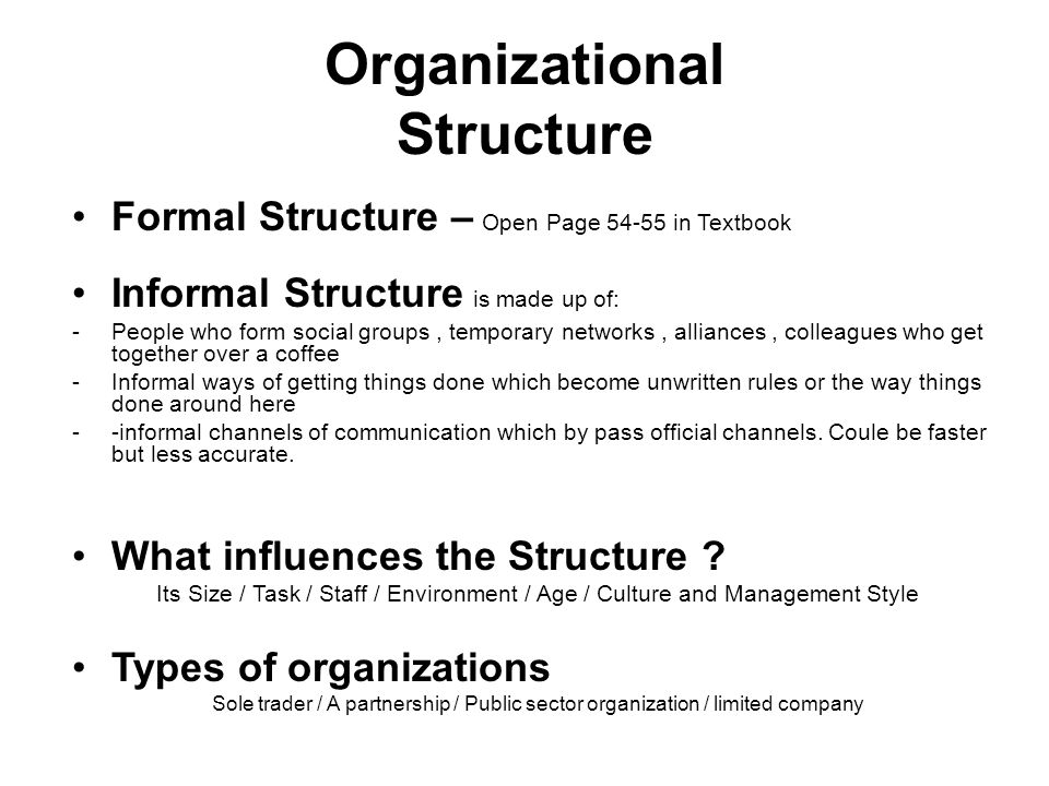 organizational structure presentation communication methods essay Organizational structure presentation communication methods organizational structure presentation annotated bibliography buchbinder, sb, & shanks, nh (2012.