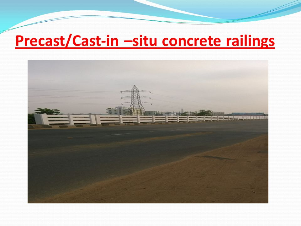 Precast/Cast-in –situ concrete railings