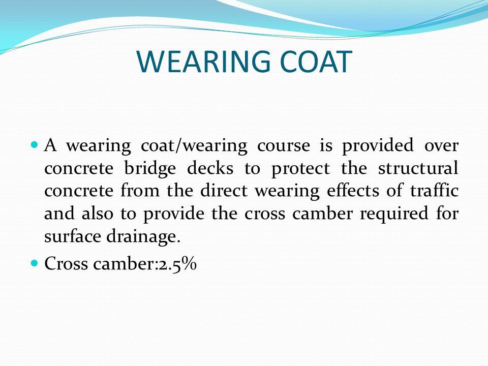 WEARING COAT