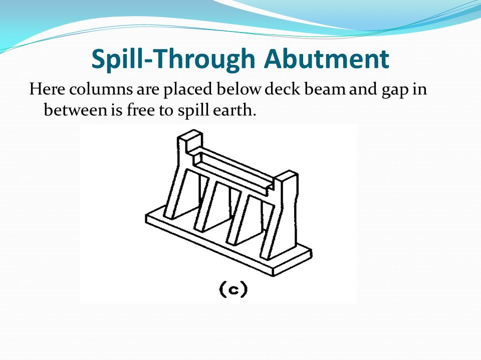 Spill-Through Abutment
