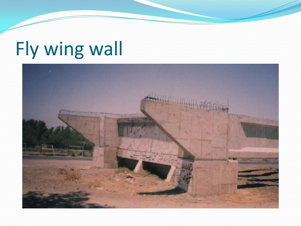 Fly wing wall