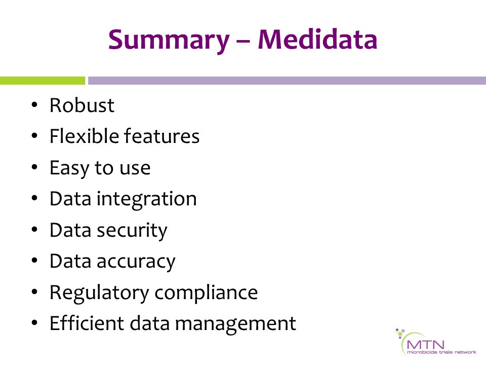Electronic Data Capture Introducing Medidata Rave Ppt