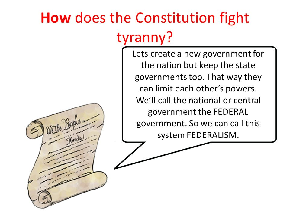 how the constitution guards against tyranny 65% see gun rights as protection against tyranny  of all americans continue to believe that the us constitution guarantees the right of an average.