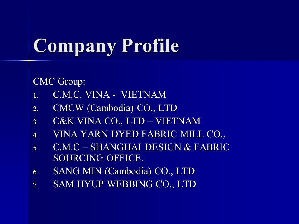 Company Profile CMC Group: C M C  VINA - VIETNAM
