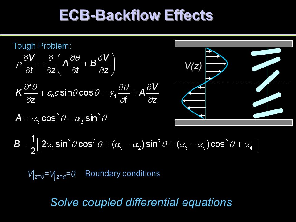 how to solve coupled differential equations