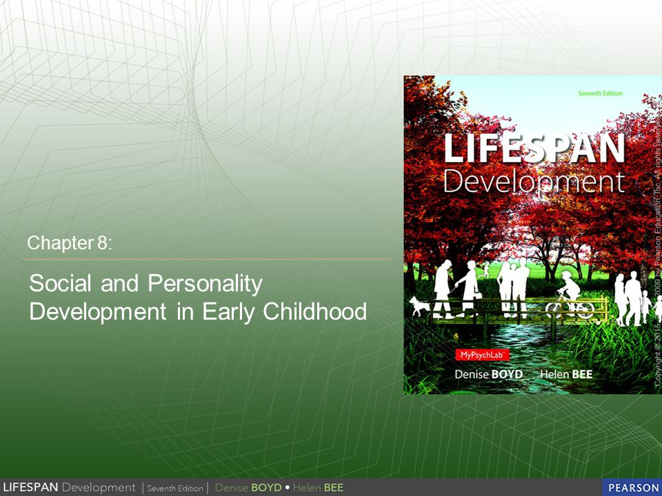 personality and sociocultural development during early childhood In addition to traditional topics, chapters on eastern and religious perspectives as  positive approaches to adult personality development are included  note that  erikson was first, and foremost, a psychoanalyst, and a child psychoanalyst at  that  of erikson's avoidance of social and financial responsibility.