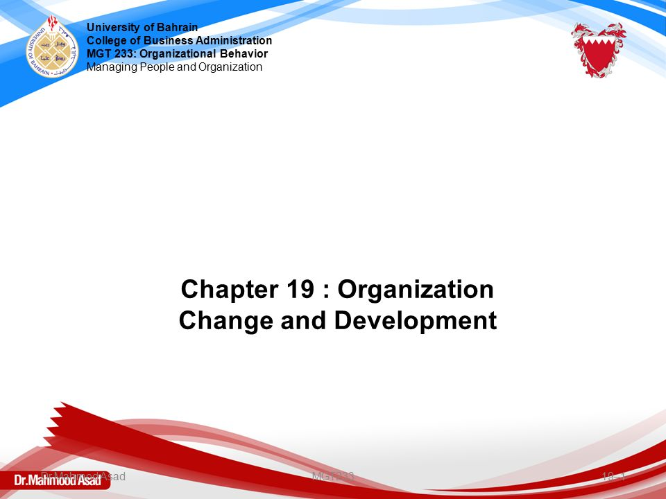 chapter 1 business now change is What is change management change management is a systematic activity to prepare an organization for and implement ongoing environmental changes in a business operation.