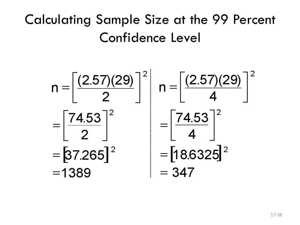 Calculating the Right Survey Sample Size